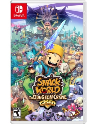 Snack World: The Dungeon Crawl-Gold