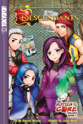 Disney Manga: Descendants the Rotten to the Core Trilogy Volume 1